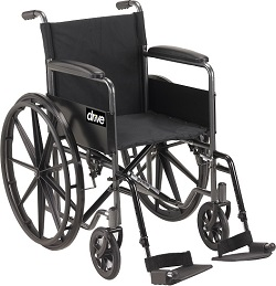 wheelchair silver sport 1